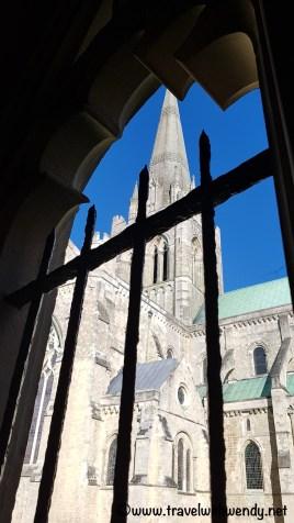 Views around Chichester Cathedral
