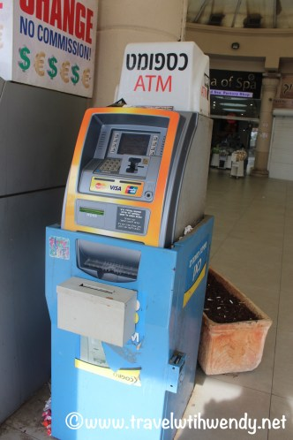 Money machine - accessible
