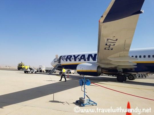 RyanAir sunny weather in Israel