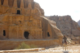 Walking through Petra