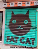 Fat Cat - Wall art