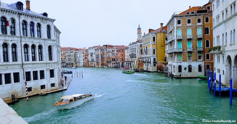 From the bridges of Venice