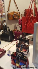 Leather bag shopping