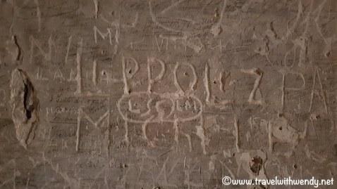 Prison scribbles