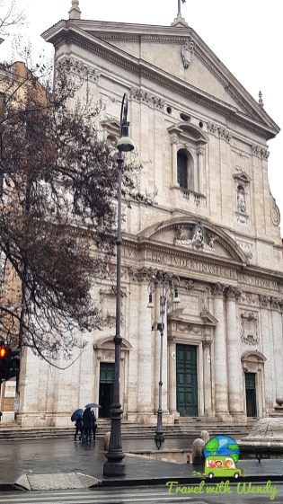 Architectural beauties around Rome