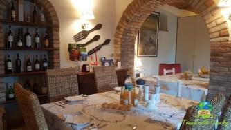 Breakfast room at B&B Che Piasi
