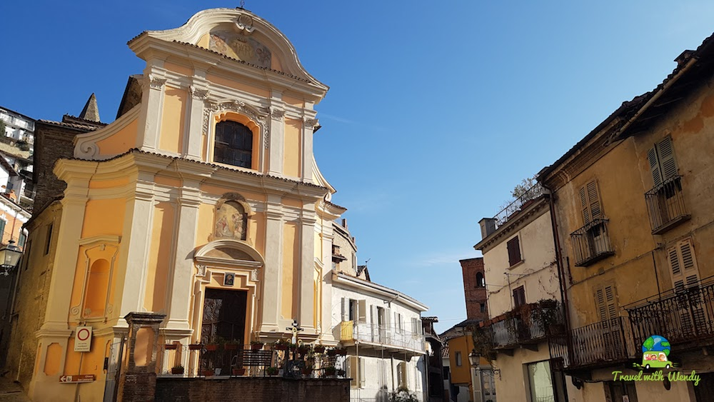 Canelli church