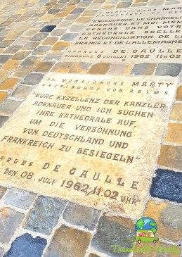 Charles de Gaulle dedication