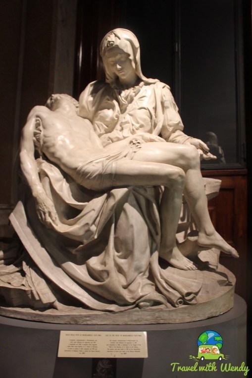 Madonna & Jesus - Vatican - Michelangelo