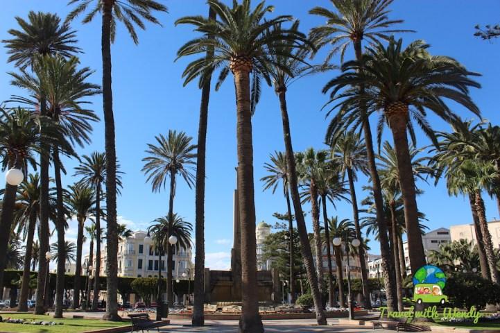 Melilla sunny park