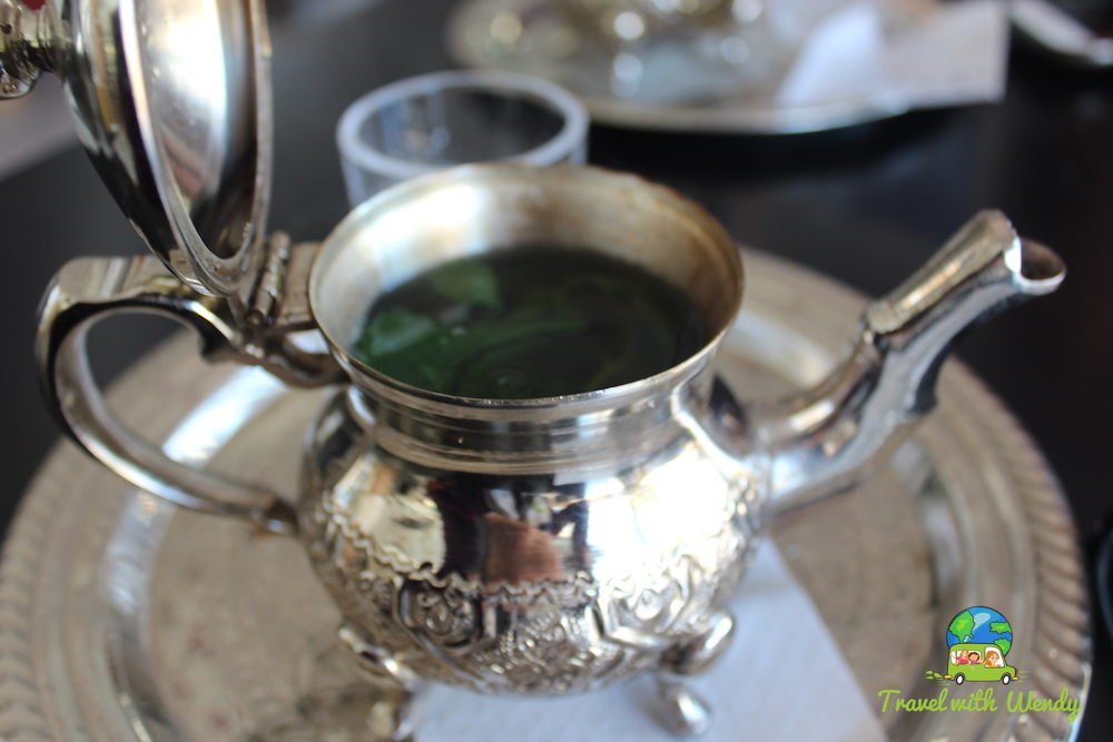 Mint tea time