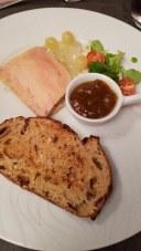 Pate, toast and jam