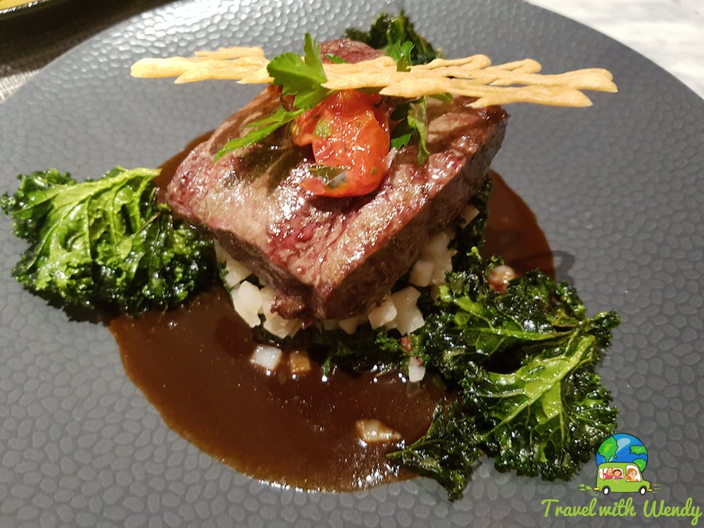 Steak with Kale and Turnips