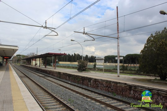 Train Depots around Rome