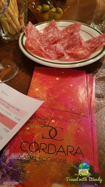 Wine tasting with Claudia Cordara