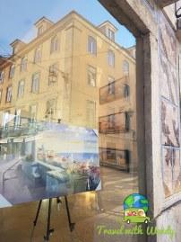 Art on the streets of Lisbon