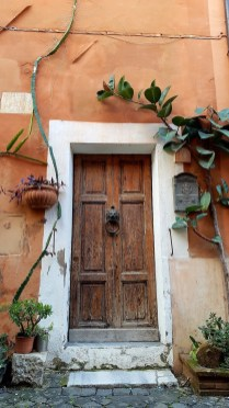 Gorgeous houses in old Ostia Antica