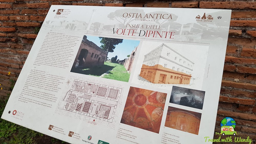 Ostia Antica - port city of Rome