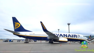 RyanAir - taking off