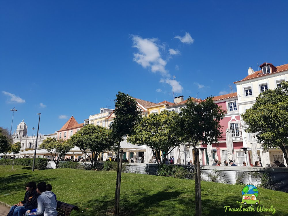 Walking the streets of Belem