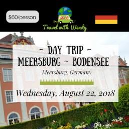 DAY TRIP - AUG Meersburg- Bodensee