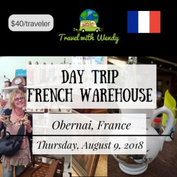 DAY TRIP - August 9 French Warehouse