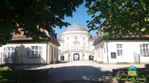 Views of Schloss Solitude