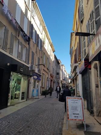 Walking the streets of La Ciotat