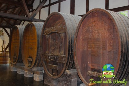 Wine Barrels in the Weinbaum Museum Stuttgart