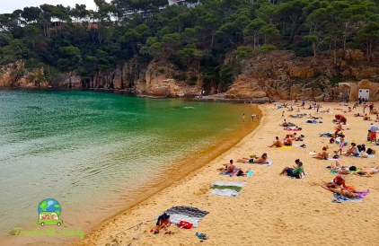 Beach at Begur