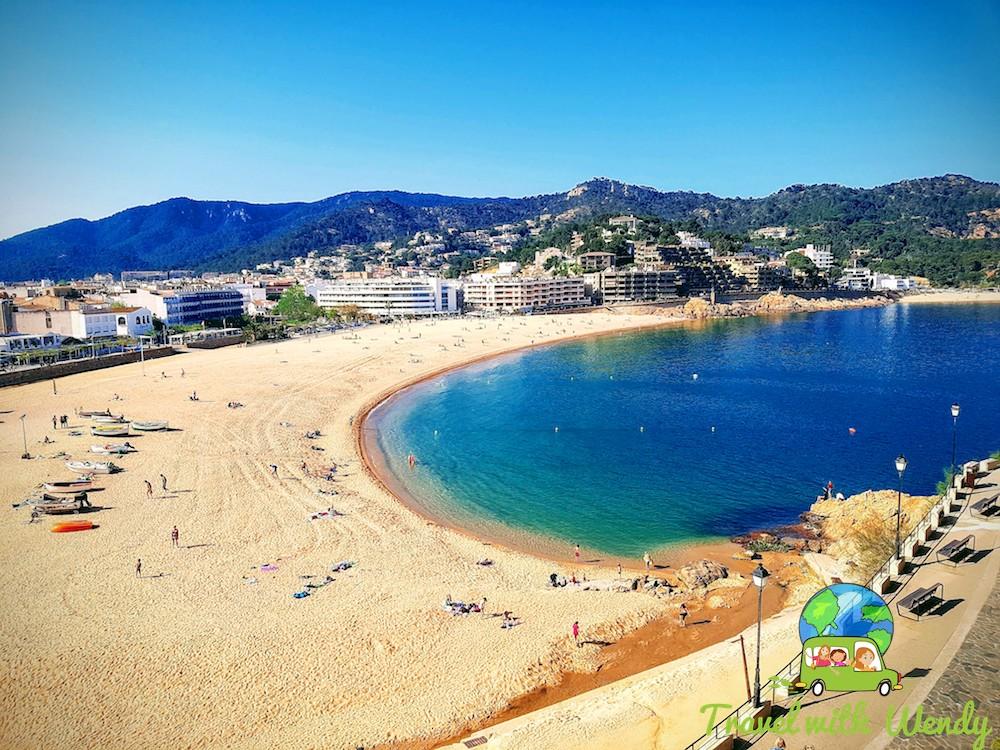 Beach views - Tossa del Mar