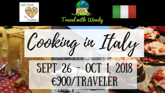 Cooking in Italy - Sept 26 - Oct 1