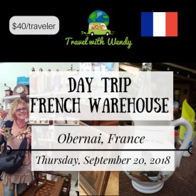 DAY TRIP - SEPT 20 - French Warehouse