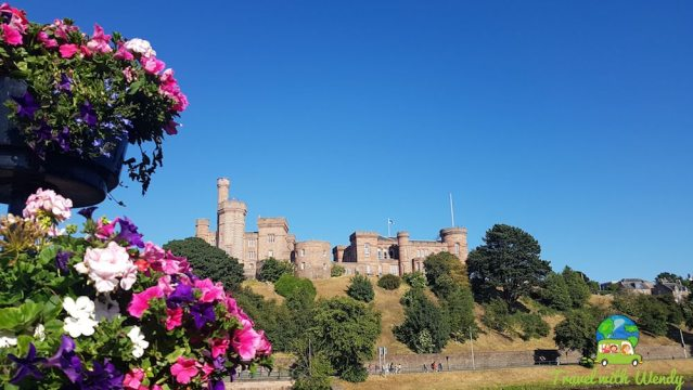 Inverness, Scotland in July