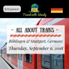 SEPT TRAIN CLASS - Sept 6