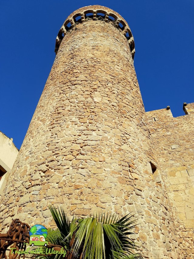 Catalonia - Tower shot - Castle Del Mar