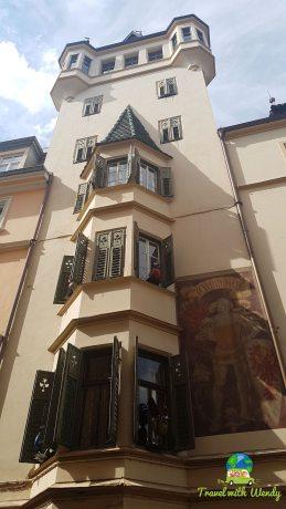 Beautiful buildings of Bolzano