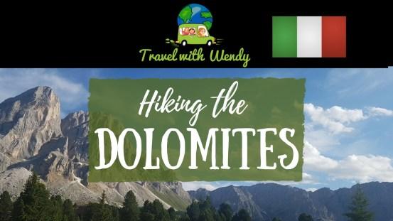 Blog Title - Hiking the Dolomites