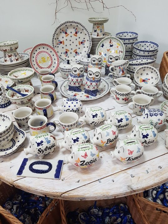 Blue pottery evawhere
