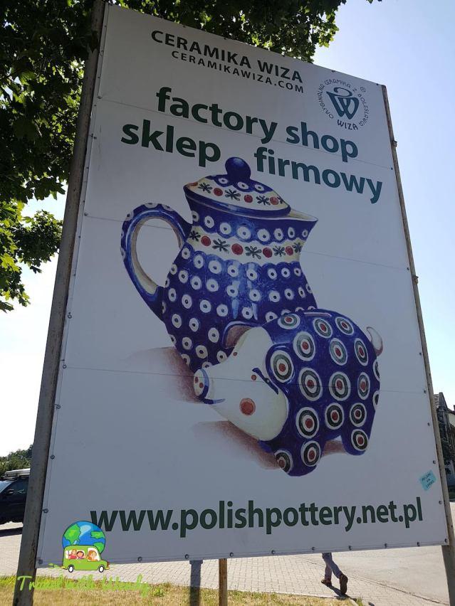 Ceramika wiza - Poland