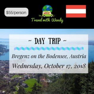 DAY TRIP - Bregenz on the Bodensee
