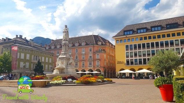 Dolomites - Gorgeous Piazza in Bolzano