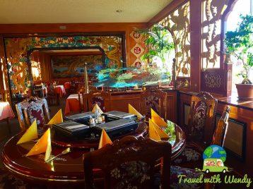 Interior Asian Restaurant Zinwa - Weißwasser, Germany