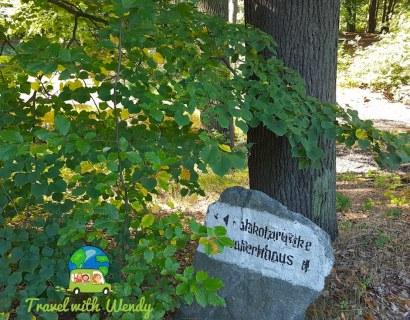 Old signs of Rakotzbrucke
