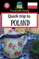 POLAND pin - quick trip