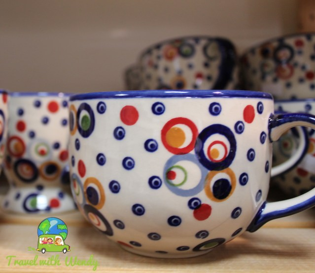 Polish pottery and more... quick trip to Poland