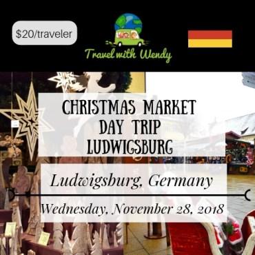 CHRISTMAS MARKET - LUDWIGSBURG -November 28