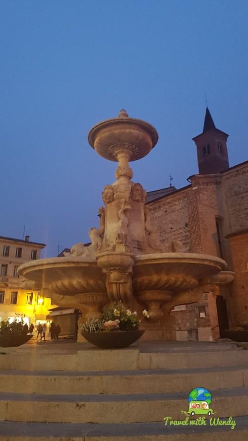 Bassano at night