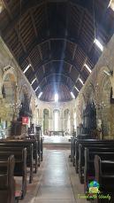 Creepy church with timbers - Scotland