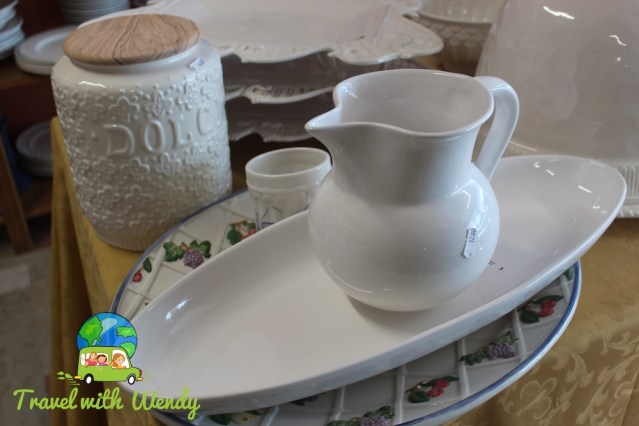 My Italian pottery buys! - Nove shopping